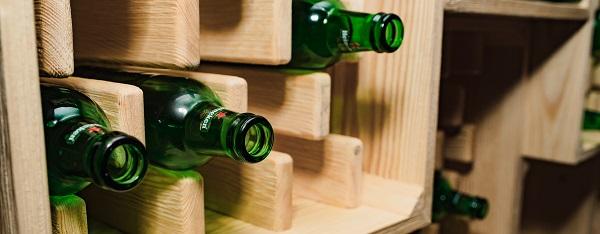 bouteille de bière Heinken,  consignes