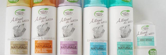 Rappel produit : déodorant Natura Amica