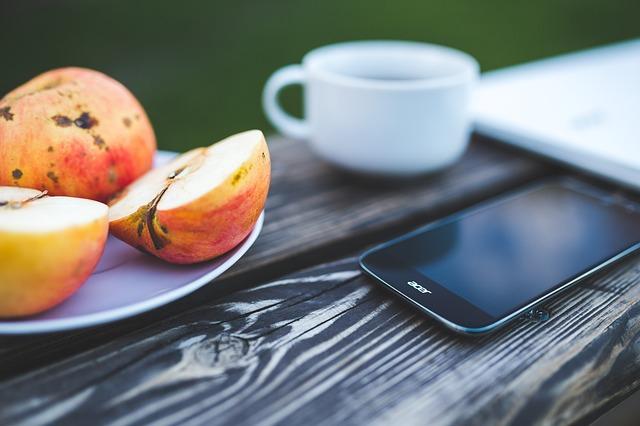 appli mobile alimentation
