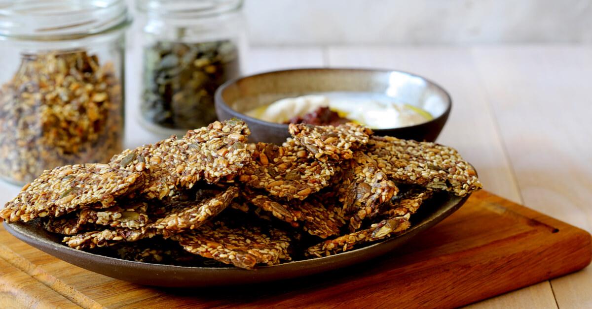 Recette : biscuits apéro sans gluten