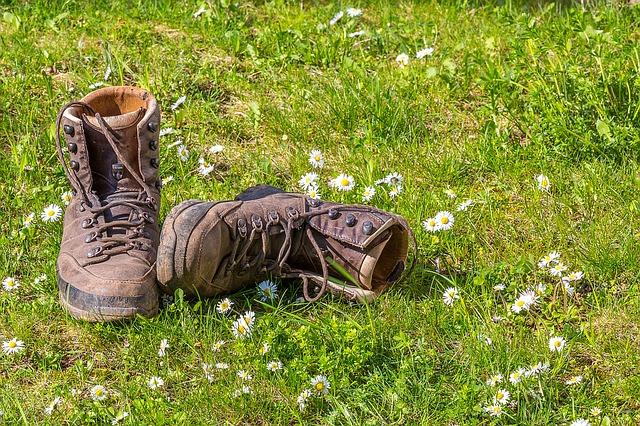 outdoor, chaussure de randonnée, réparation