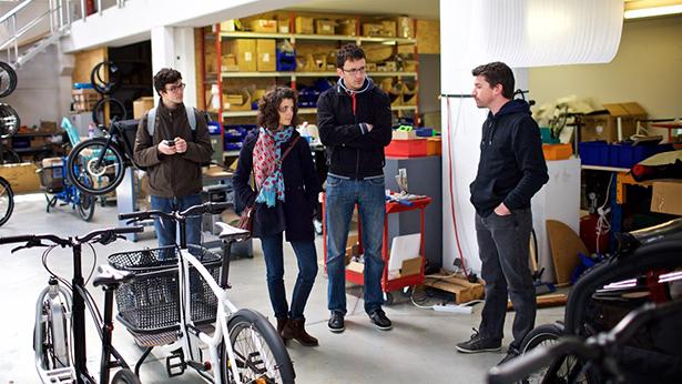 olmo douze cycles vélos biporteurs vélo-cargo