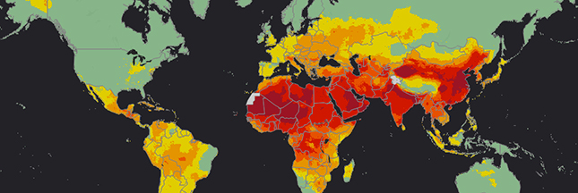 Pollution de l'air : 92 % de la population mondiale est touchée