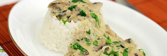 Recette bio : un risotto aux champignons