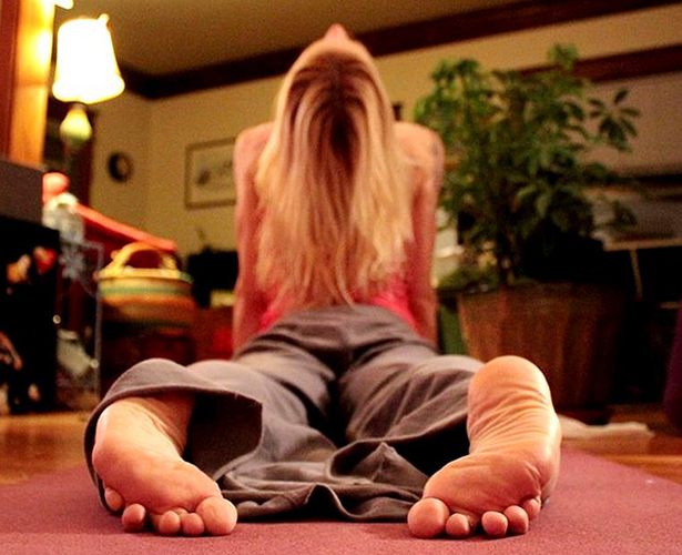 yoga, position, respiration, bienfait, pas de stress