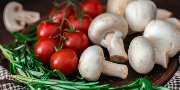 champignon à la grecque