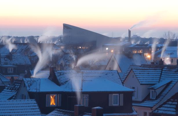 Pollution particules fines chauffage au bois