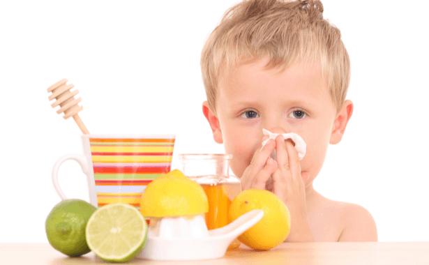 défenses immunitaires grâce au citron - miel remède naturel