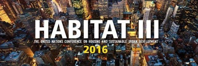 Comment vivre en ville durablement? La conférence Habitat III