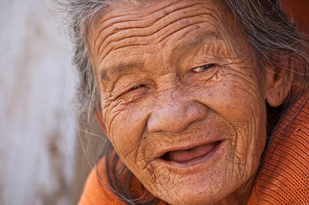 immortalité, vieille femme, personne âgée