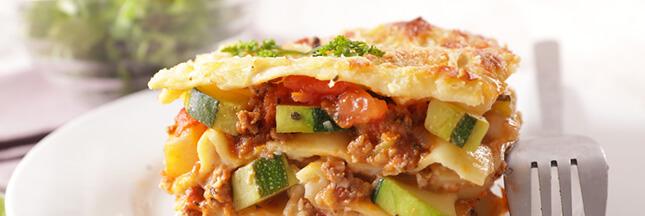 Recette bio: les lasagnes aux légumes