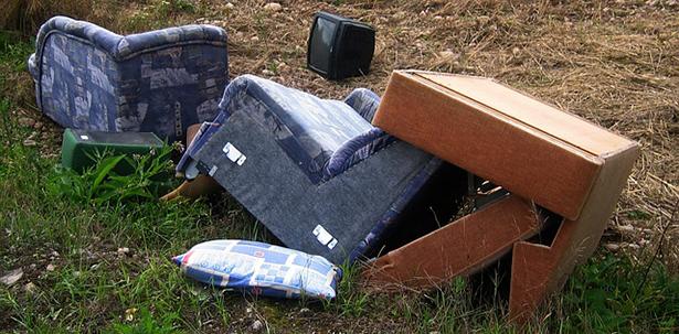 encombrants, déchets abandonnés, recyclage, C3R