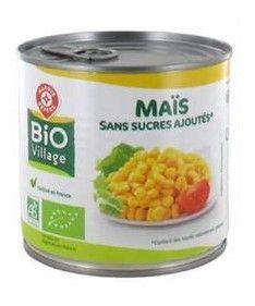 Maîs doux, conserve, rappel produit, Leclerc, Bio Village, marque Repère