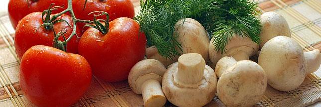 Recette végétarienne : les champignons à la grecque