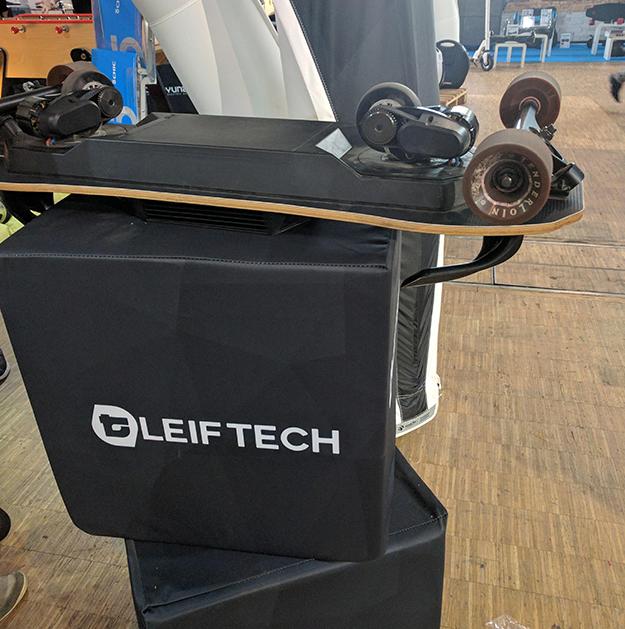 salon Autonomy, Volt, mobilité de glisse, freeboard