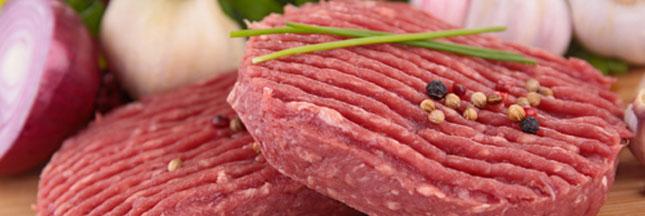 Rappel produits : steaks Cora et Thiriet et des burgers Auchan
