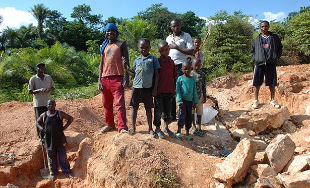 travail des enfants, mine de cobalt, RDC