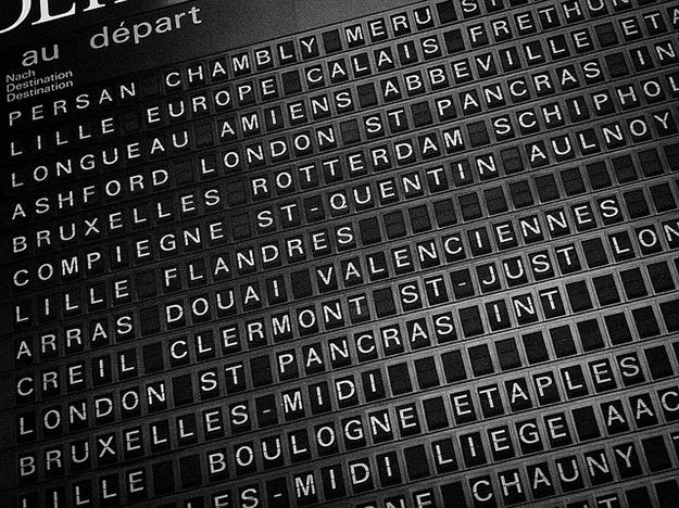 Europe en train, interrail pass, voyage en train