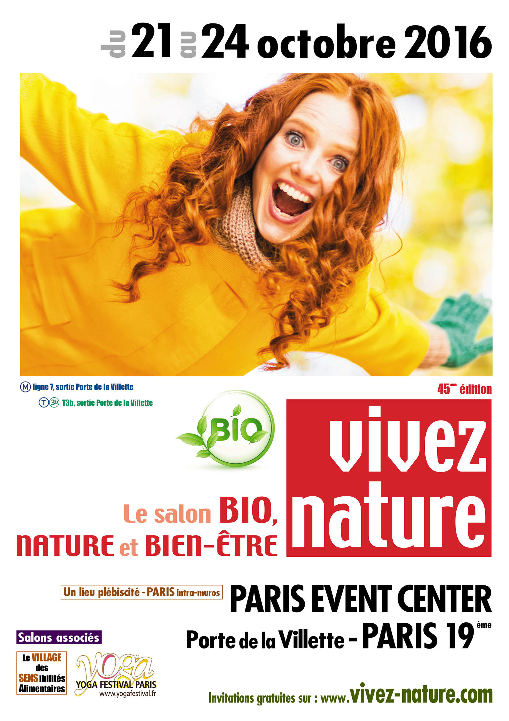 Vivez nature le salon bio et bien tre ce week end paris for Salon bio paris 2016
