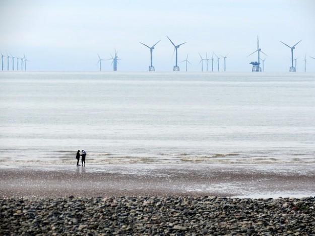 EDf, éoliennes, mer