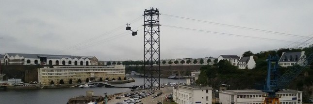 Le téléphérique entre en service à Brest