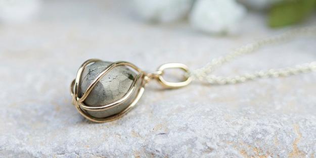 Collier Trésor Pyrite OR DU MONDE