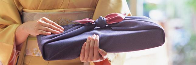 furoshiki, comment emballer un cadeau