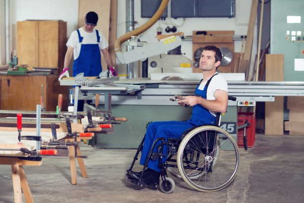 handicapé, travail, travailleur handicapé, chômage