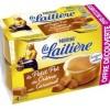 Crème au caramel, pot de crème, La Laitiètr