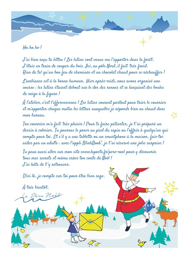 Envoyer Lettre Au Pere Noel Par La Poste.La Poste Ouvre Son Annuel Secretariat Du Pere Noel