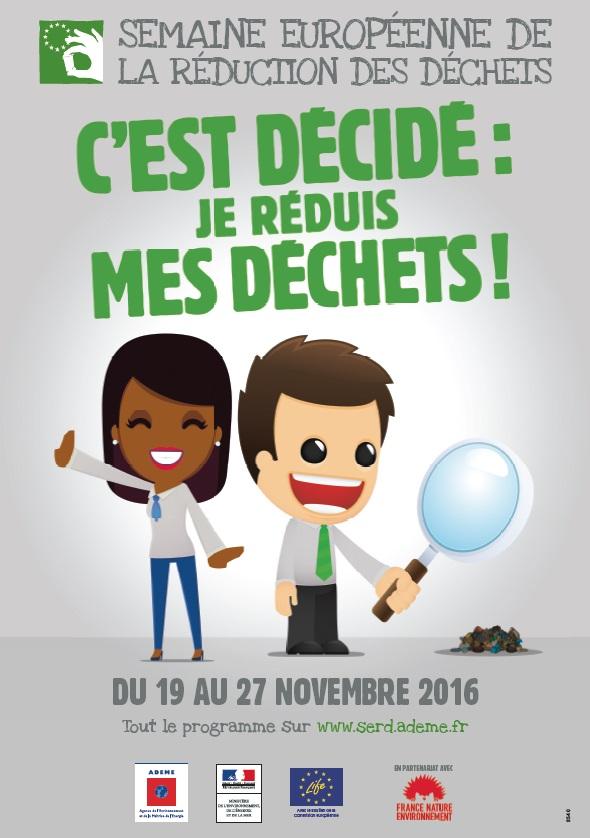 Semaine européenne de la réduction des déchets, serd