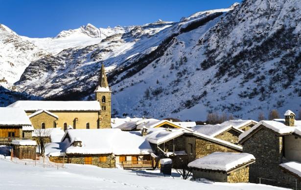 station sport d'hiver, station de ski, Bonneval-sur-Arc
