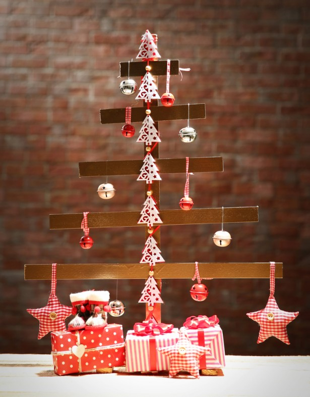 arbre de Noël, alternatives aux sapins, bricolage, bois