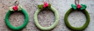 Idées déco pour un Noël 'fait-maison' : une couronne à votre image