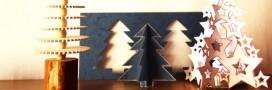 Arbre de Noël DIY: quelques alternatives aux sapins traditionnels