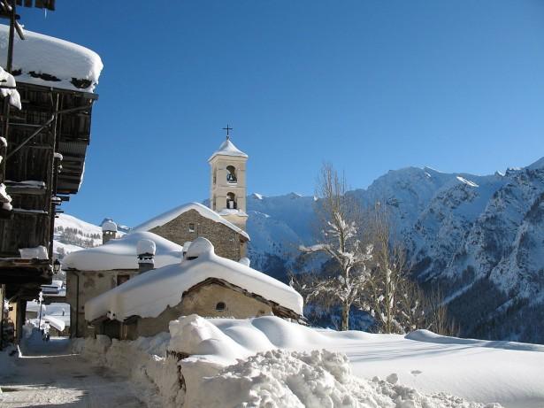 station sport d'hiver, station de ski, Saint-Véran, Hautes-Alpes
