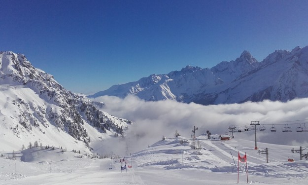 stations de ski, Chamonix, Mont-Blanc