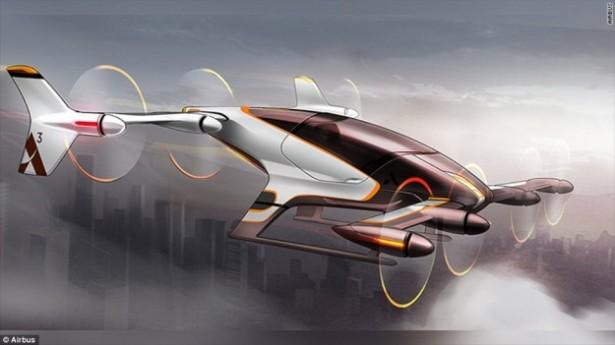 voiture volante, Vahana, Airbus