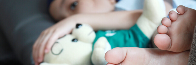 Gastro-entérite : 5 solutions naturelles pour vos enfants