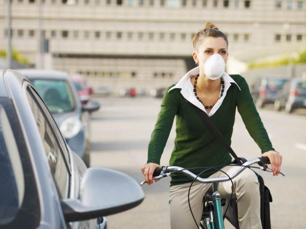 masque velo anti pollution femme