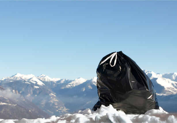 ne pas polluer la montagne