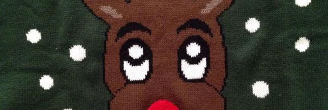 Le top 10 des pulls moches de Noël