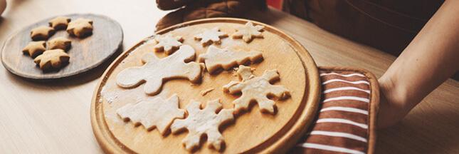 Recette de biscuit de Noël : les étoiles moelleuses