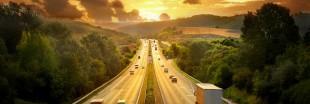 Ségolène Royal inaugure une autoroute solaire