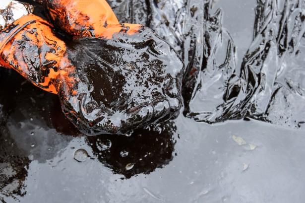 pétrole, fuite, pollution