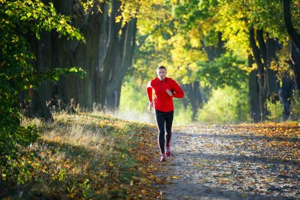 sperme, jogging, homme sportif