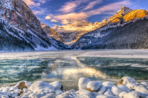 matin, Canada, Alberta