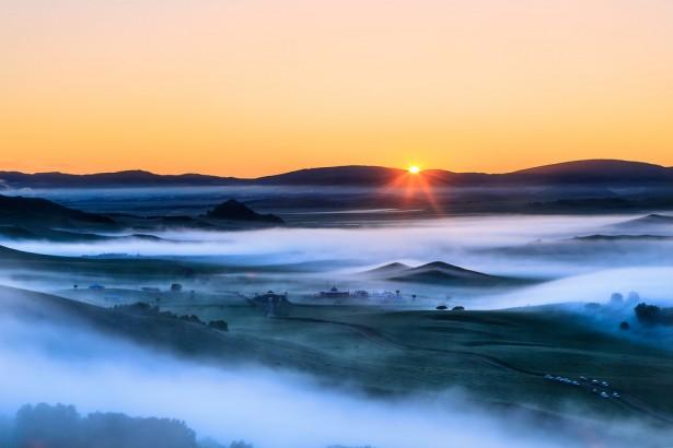 matins, Mongolie