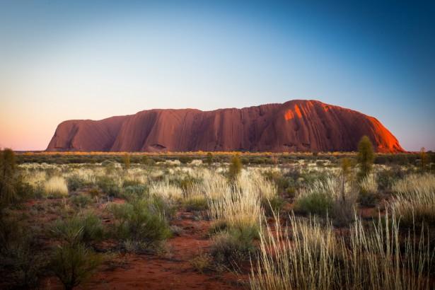matins, Australie, Uluru, Ayers Rock