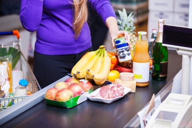prix à la consommation, supermarché, courses